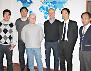 Visit from japanese partners for project meeting